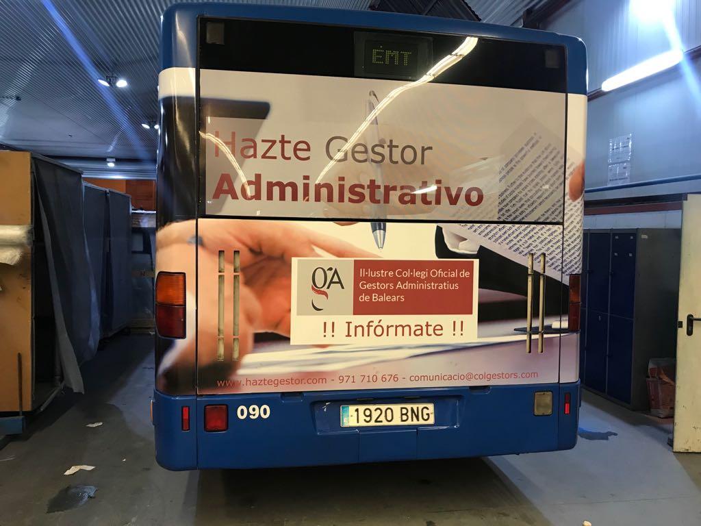 Campaña Haztegestor en Autobuses