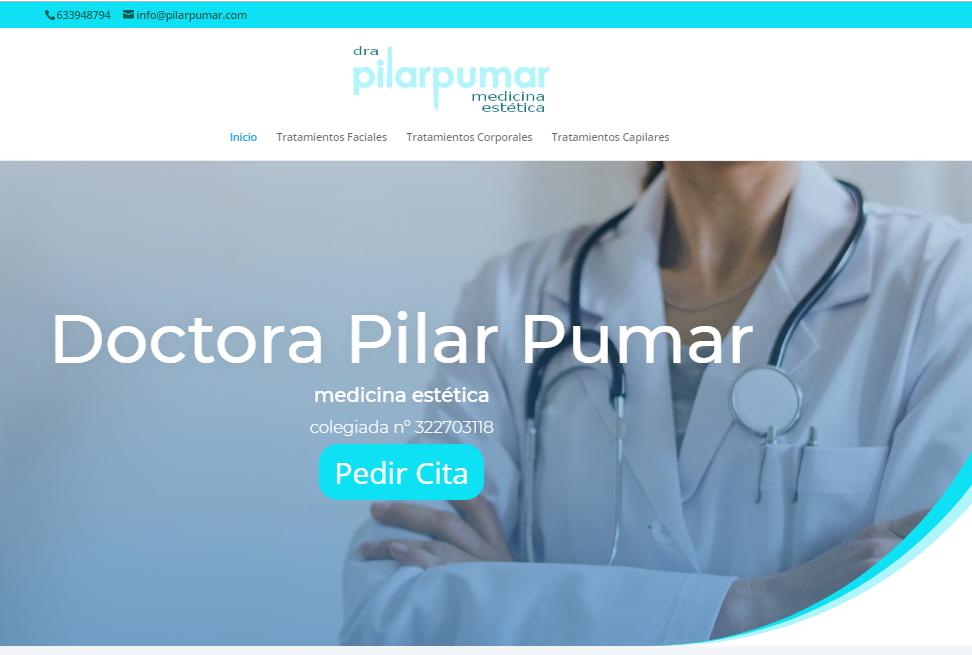 Web Pilar Pumar